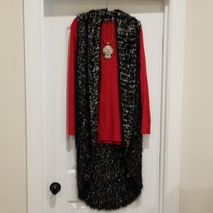 Sweaters - Chico's Luxe Sweater Vest Cardigan